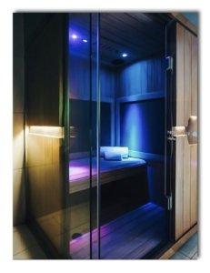 sauna light therapy