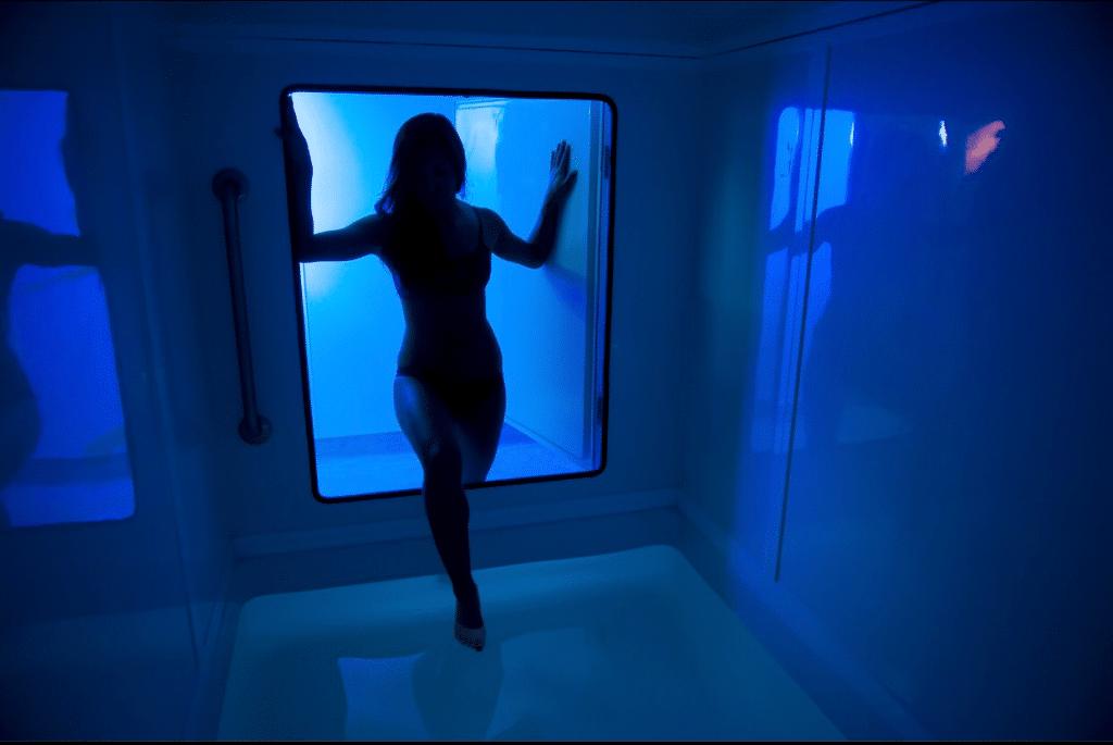 float isolation tank
