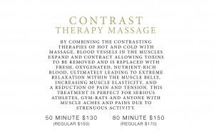 contrast therapy massage