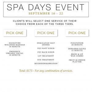 spa services dallas